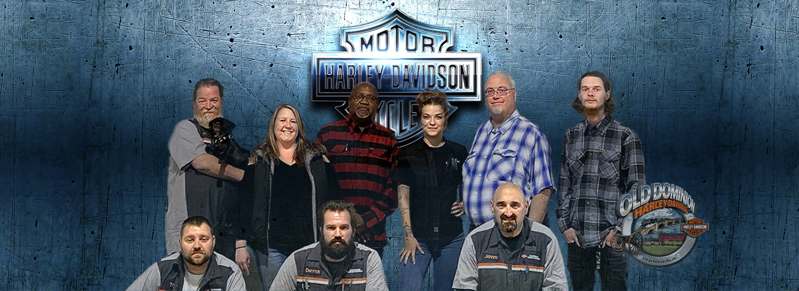 Old Dominion Harley-Davidson Staff of riders and motorcycle enthusiast